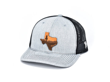 The Texas Cowboy Curved Trucker