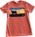 Lazy J Ranch Pasture Patch Orange T-Shirt