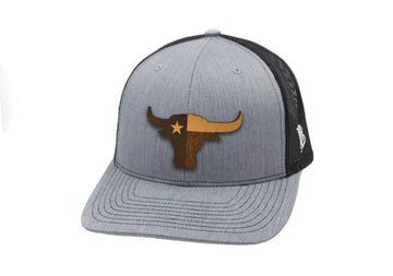 Texas The Longhorn Curved Trucker