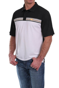 Cinch Men's Arena Flex Stripe Polo