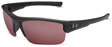 Under Armour Propel Sunglasses with Satin Black Frame and Golf Tuned Lens