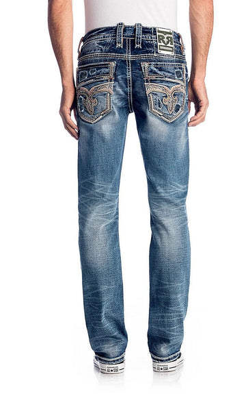 Rock Revival Straight, 32 Inseam. Extended Sizes