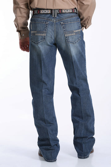Men's Medium Stonewash Relaxed Fit Grant Jean by Cinch