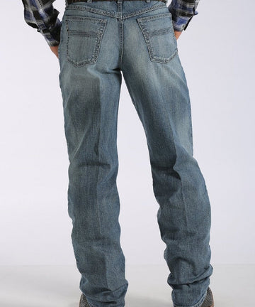 Men's Loose Fit Black Label 2.0 Jean - Medium Stonewash Mb90633006