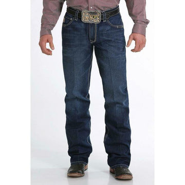 Cinch Men's Carter 2.0 Mid Stone Relaxed Bootcut Jeans