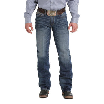 Cinch Western Jeans Mens Grant Relaxed Bootcut Medium Wash