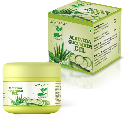ALOEVERA CUCUMBER GEL - 100% Pure Natural Gel