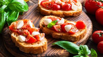 Appetizer is calling, Bruschetta is coming!