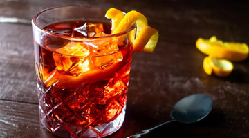 A glass of glitter: a sip of Negroni Bitter