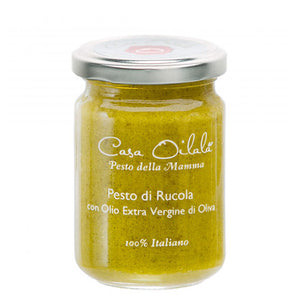 Arugula and Almond Pesto in Extra Virgin Olive Oil 140g