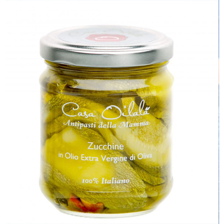 Zucchini inExtra Virgin Olive Oil 190g