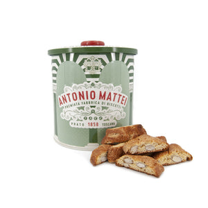 Almond Cantucci Tin CLARA - 500 g