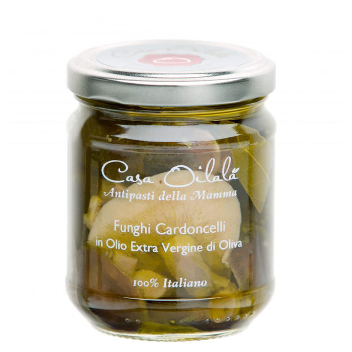 Cardoncelli Mushroom in Extra Virgin Olive Oil 190g
