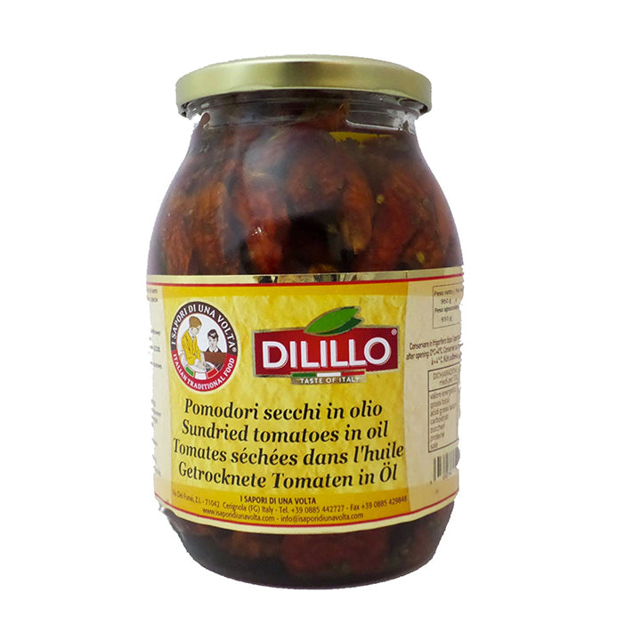 "Sundried Tomatoes In Oil ""Dilillo"" 1062ml/jar"