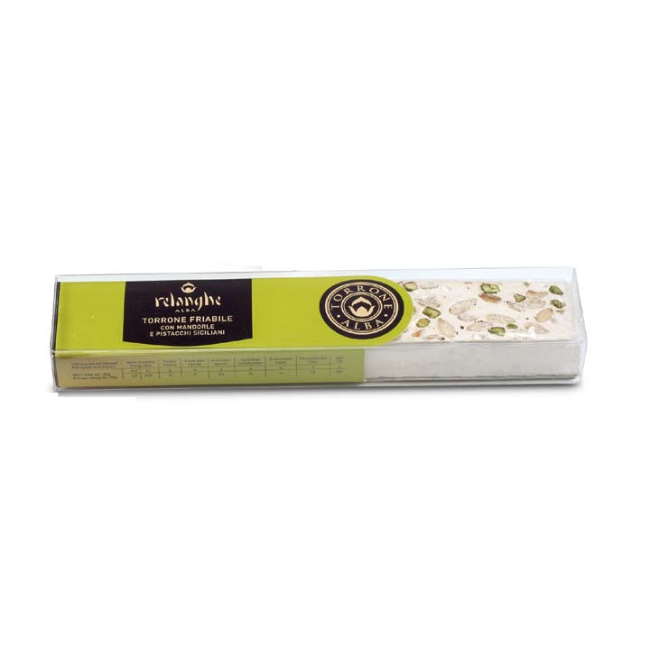 Crunchy Torrone with Almond & Sicilian Pistachios - 150g