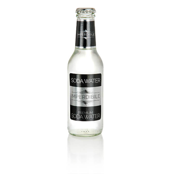 "Soda Water ""Imperdibile"" 200ml - 6 bottles"