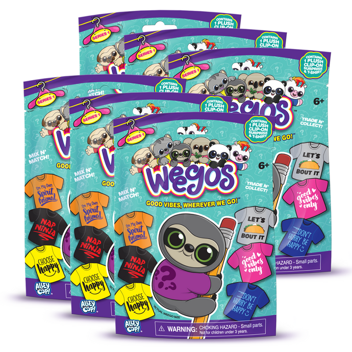 6-Pack Weegos Blind Bag