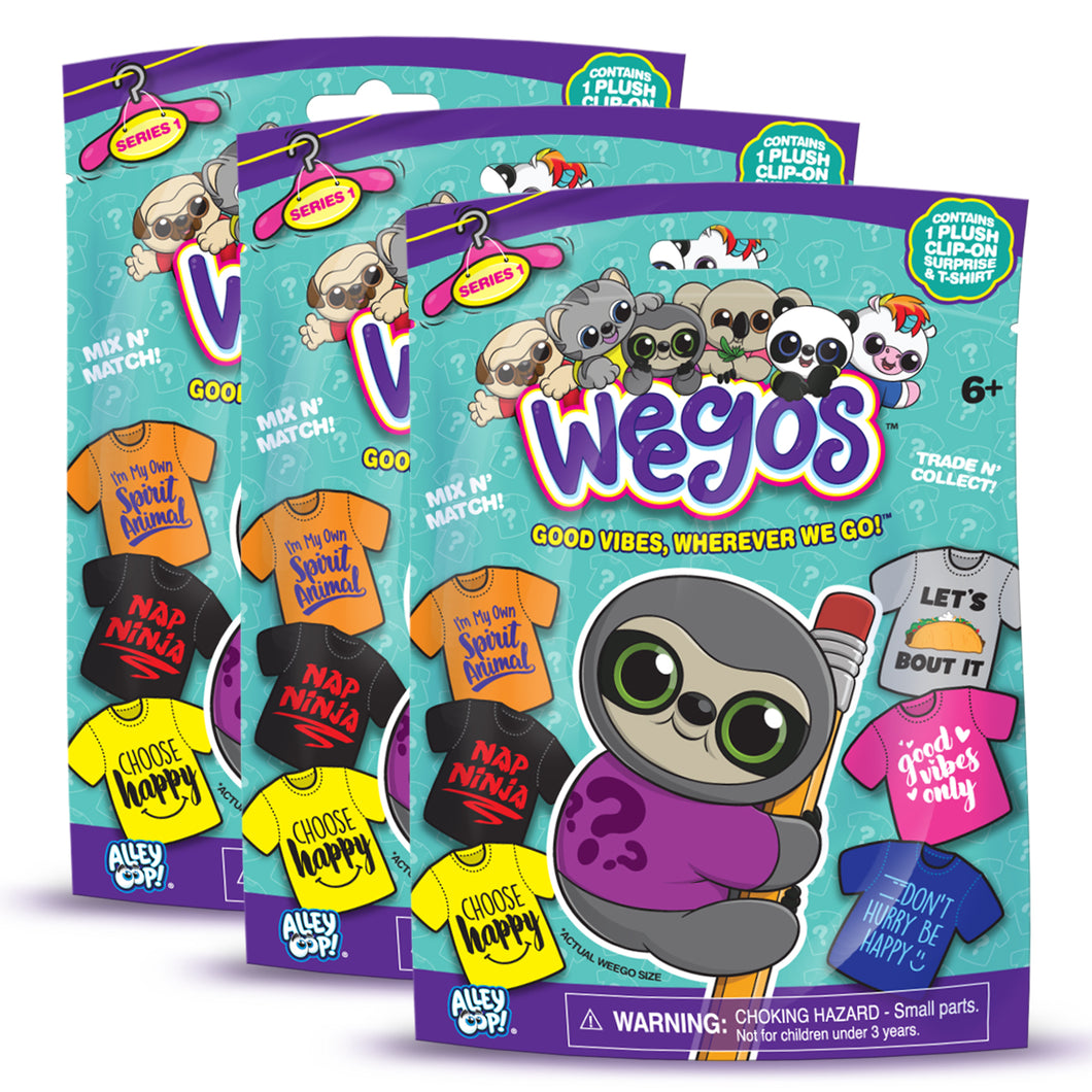 3-Pack Weegos Blind Bag