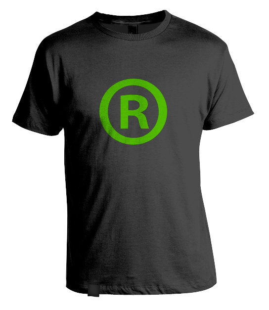 Registered T-Shirt Black