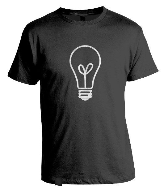 Test Bulb T-Shirt Black
