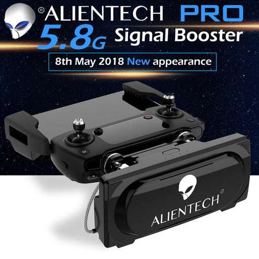 Alientech 5.8ghz Amplified directional antenna signal booster - range extender DJI drones