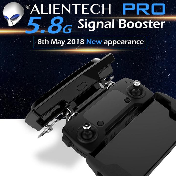 Alientech 5.8ghz Amplified Antenna NOW WITH MAVIC AIR 2 SUPPORT!