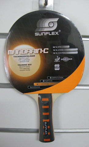 Sunflex Mandarin - C Table Tennis Bat