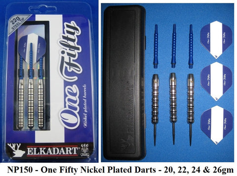 Elkadart Nickel Plate 150 Darts