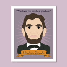 Load image into Gallery viewer, Heroes Collection: Abraham Lincoln 8x10 Art Print