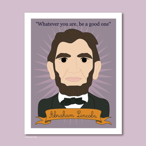 Heroes Collection: Abraham Lincoln 8x10 Art Print