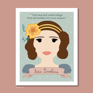 Sheroes Collection: Ada Lovelace 8x10 Art Print