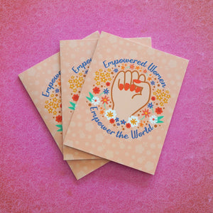 3 Card Pack: Empowered Women Empower the World Greeting Cards