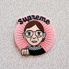 Load image into Gallery viewer, Supreme RBG Ruth Bader Ginsburg Embroidered Patch