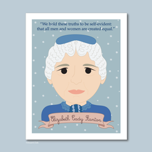 Load image into Gallery viewer, Sheroes Collection: Elizabeth Cady Stanton 8x10 Art Print