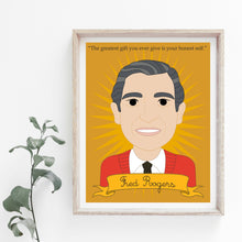 Load image into Gallery viewer, Heroes Collection: Fred Rogers 8x10 Art Print