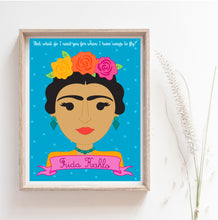 Load image into Gallery viewer, Sheroes Collection: Frida Kahlo 8x10 Art Print
