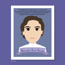 Load image into Gallery viewer, Sheroes Collection: Henrietta Swan Leavitt 8x10 Art Print