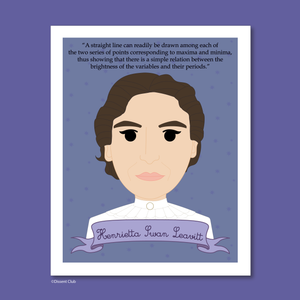 Sheroes Collection: Henrietta Swan Leavitt 8x10 Art Print