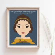 Load image into Gallery viewer, Sheroes Collection: Hypatia 8x10 Art Print