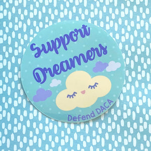 Support Dreamers, Defend DACA Sticker