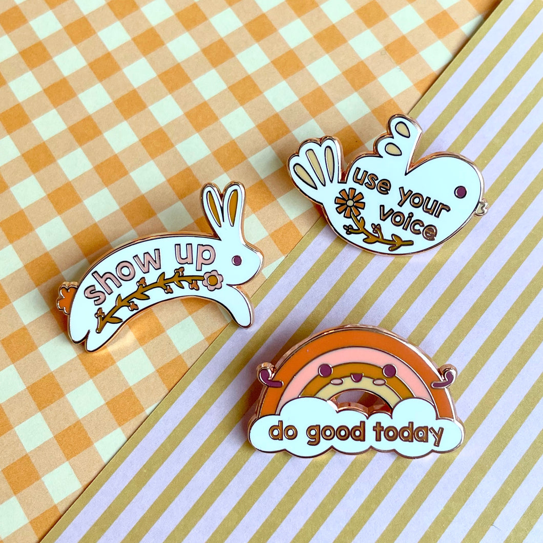 Do Good Pin Collection (3 Pin Set)