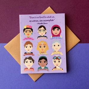 Women in History Greeting Card