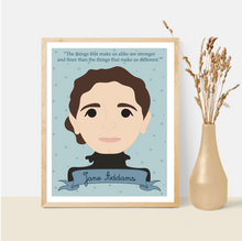 Load image into Gallery viewer, Sheroes Collection: Jane Addams 8x10 Art Print