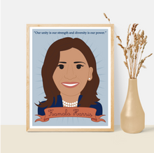 Load image into Gallery viewer, Sheroes Collection: Kamala Harris 8x10 Art Print