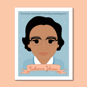 Sheroes Collection: Katherine Johnson 8x10 Art Print