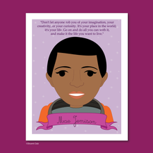 Load image into Gallery viewer, Sheroes Collection: Mae Jemison 8x10 Art Print