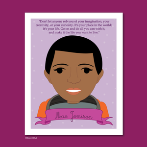 Sheroes Collection: Mae Jemison 8x10 Art Print