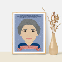 Load image into Gallery viewer, Sheroes Collection: Maria Montessori 8x10 Art Print