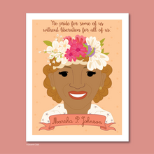 Load image into Gallery viewer, Sheroes Collection: Marsha P. Johnson 8x10 Art Print