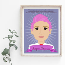 Load image into Gallery viewer, Sheroes Collection: Megan Rapinoe 8x10 Art Print